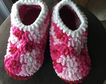 Homemade Warm & Cozy Buttoned Slippers