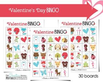 Valentine's Day Bingo (Class Set)