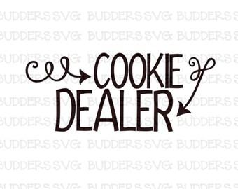 Cookie Dealer SVG, Girl Scout svg, Girl Scout Cookies, Cookie Dealer, Girl Scout, Custom SVG, svg, Cut File, Cricut