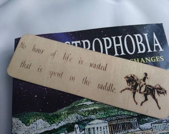No Hour Wasted Bookmark