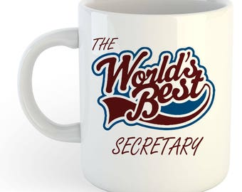The Worlds Best Secretary Mug