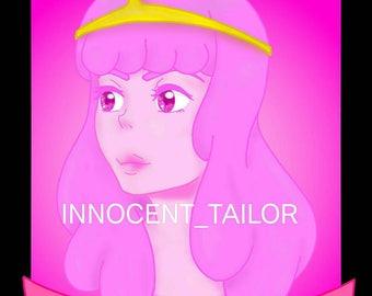 """Princess Bubblegum (Adventure Time) """"Responsibility Demands Sacrifice"""" Print"""