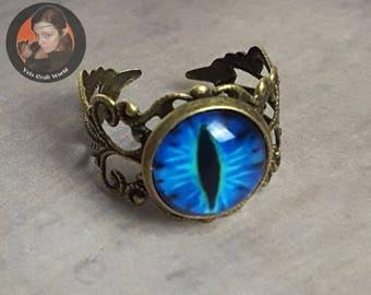 """Finger ring """"Dragon Eye"""""""