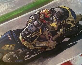 Valentino Rossi Moto GP 500 Art