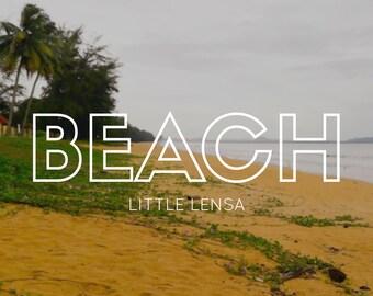 Beach Photo Digital Download