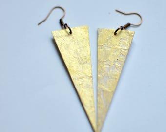 Stardust earrings - Triangle 2