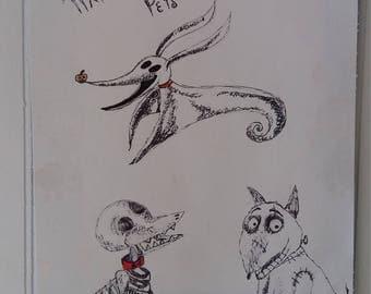 Tim Burton's pets