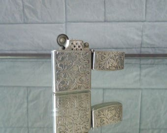 "Vintage Lighter sterling Silver ""Zipo"" 925"