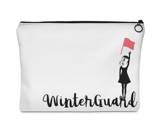 Winterguard Flag Carry All Pouch  -Two Sizes- winter guard, colorguard, color guard