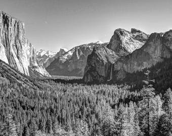 Yosemite Canvas Photo