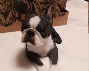 Sandicast Boston Terrier Figurine