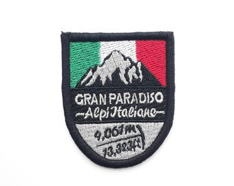Gran Paradiso Embroidered Patch