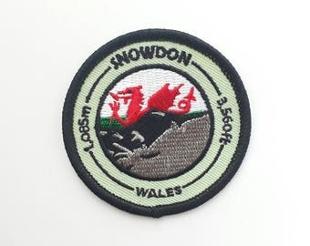 Snowdon  Embroidered Patch
