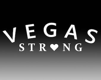 Vegas Strong car Decal