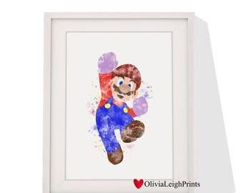 Super Mario Kart art print Instant Download