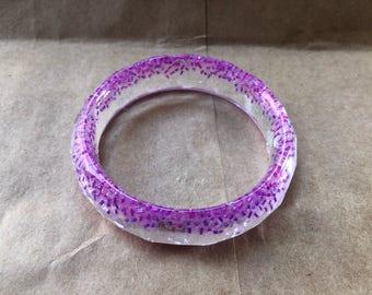 Pink Glass Bead Bracelet