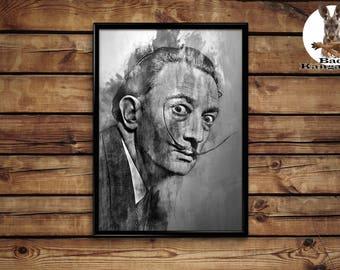 Salvador Dali wall art home decor poster