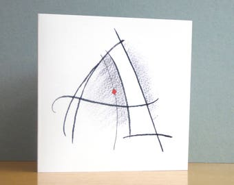 Initial Letter Card