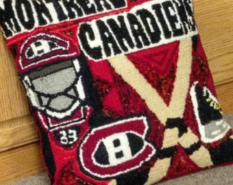 Montreal Canadiens pillow