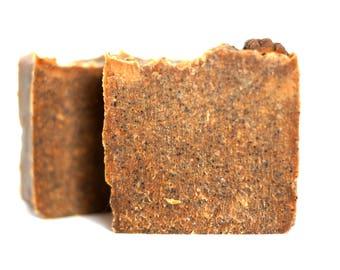 Coffee Scrub Soap (unscented)