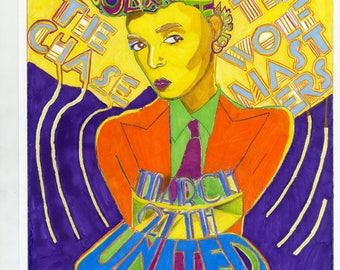 Janelle Monae fan art