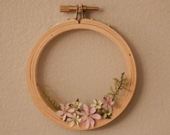 Wild Flower Hoop