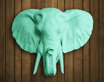 Elephant Head (see colors)