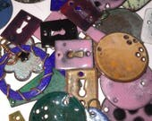 Enamel over copper components