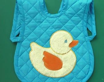 Toddler Over the Shoulder Bib Handmade