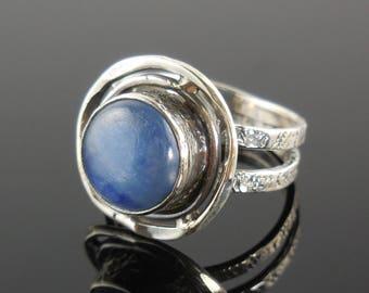 Kyanite sterling silver ring – size 6.5