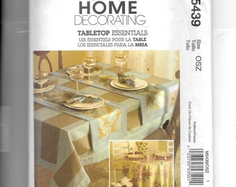 McCall's Tabletop Essentials Pattern 5439