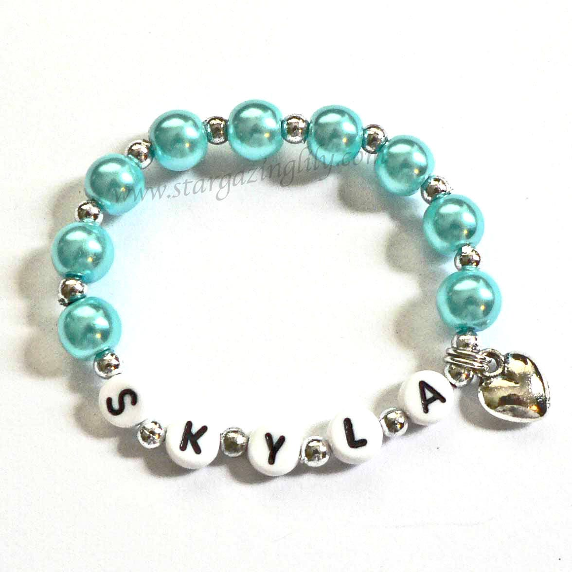 Personalized Name Bracelet Children s Jewelry PERSONALIZED