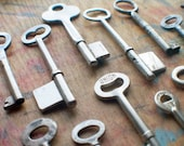 Antique Skeleton Keys - Wholesale Lot - Instant Collection - Mixed Vintage Keys
