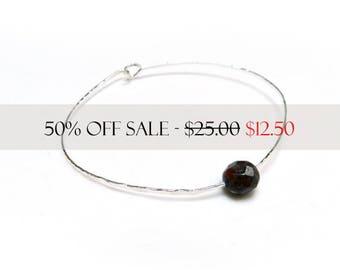 Bangle Bracelet, Hammered Silver Bangle, Minimalist Jewelry, Unisex Jewelry, Silver Jewelry, Unisex Bracelet, Made by Durango Rose