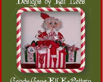 The Candy Cane Elf E-Pattern