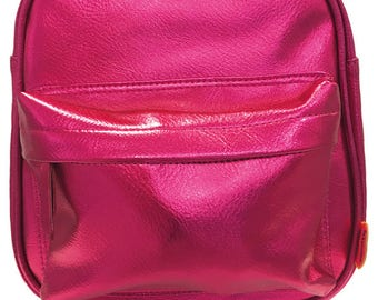 Backpack Metallic Pink