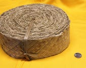 Lauhala Gürtel 2 1/2 Zoll breit, 6,5 cm breit Lauhala, gewebt, Belting, Band, Panandus