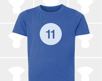 11th Birthday Shirt - Boys & Girls Unisex TShirt