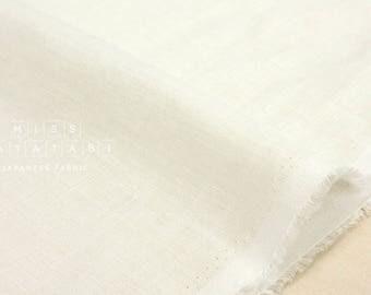 Japanese Fabric 100% linen - off white -  50cm
