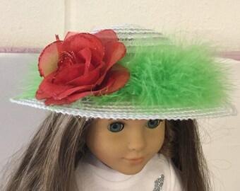 "Hat #1 18"" doll like the American girl"