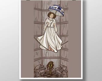 Leia's Corruptible Mortal State Medium Print (Item 03-322-BB)