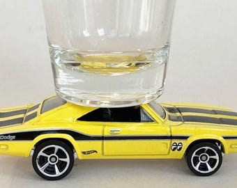 the ORIGINAL Hot Shots Shot Glass, '67 Dodge Charger 500, Hot Wheel
