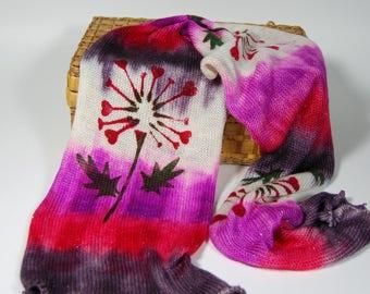 Sparkle sock Blank -Dandy Heart