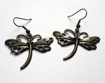 Grisette, dragonfly earrings