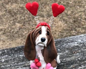 Basset hound Valentine
