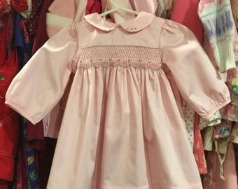 Classic Smocked Dress 6/9 Months