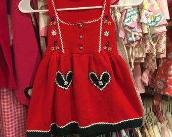 Austrian Dress 4T