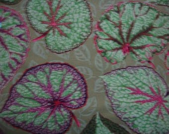2 yds. Big Leaf in mint from the Kaffe Fassett collection
