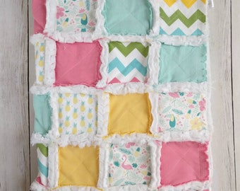 Pineapple Rag Quilt