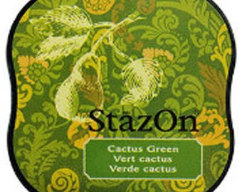 Cactus Green Ink by StazOn